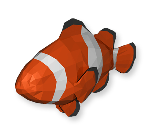 You can explore our world as a clownfish